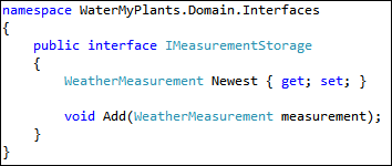 IWeatherMeasurement